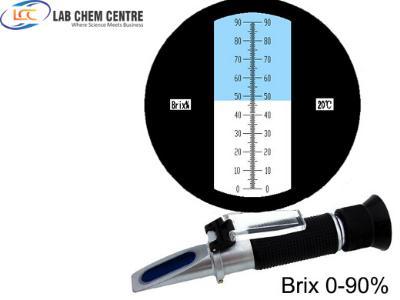 0-90% Auto handheld portable brix refractometer