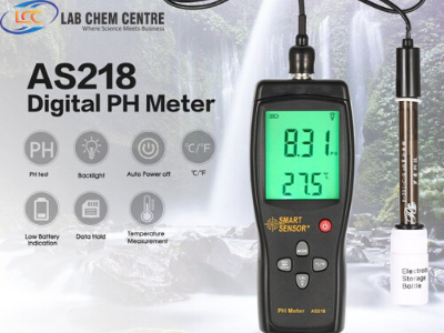 Smart Sensor AS218 Digital Portable PH Meter Range 0.00~14.00pH