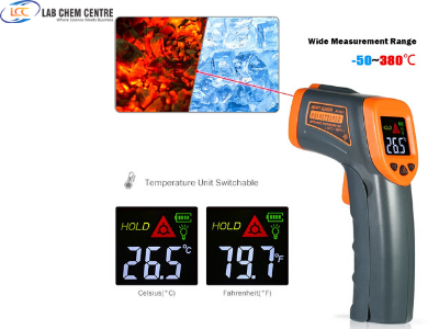 T380 Digital Infrared Thermometer LDC IR -32~380 C Non-Contact IR aquarium Laser Gun Pyrometer temperature Thermometer Meter