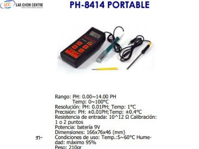 ph 8414 portable meter