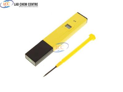 Ph meter yellow